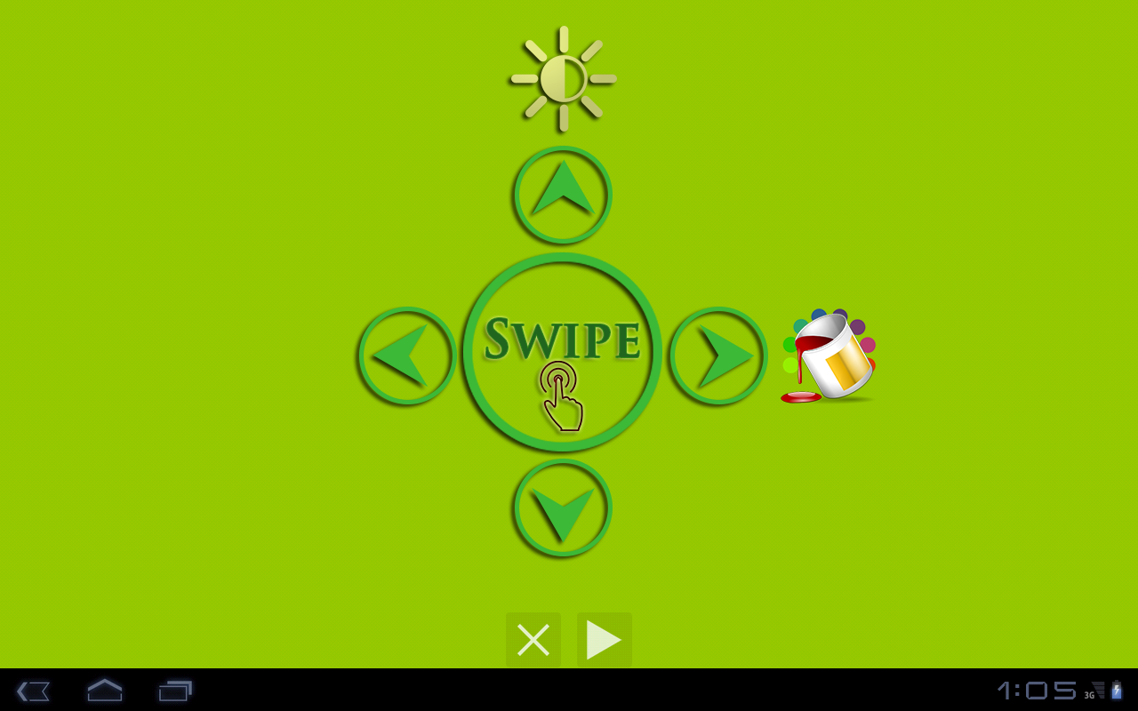 Torch Wave Flashlight ® FREE - screenshot