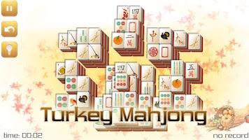 Screenshot of Thanksgiving Mahjong