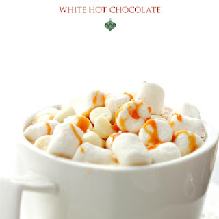 Vanilla Latte White Hot Chocolate + KitchenAid Stand Mixer Giveaway!