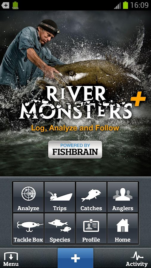 River Monsters+- screenshot