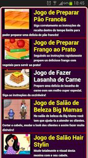 Jogos de culinária - screenshot thumbnail