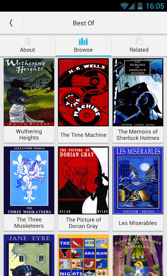Free Books - 23,469 classics - screenshot