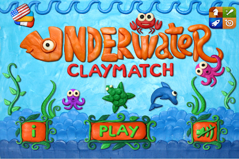 Underwater Clay Match HD - screenshot thumbnail