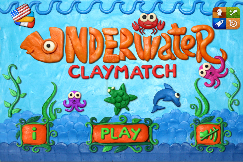 Underwater Clay Match HD- screenshot