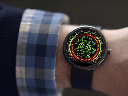 F02 WatchFace for Moto 360 - náhled
