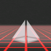 Retro Grid 3D Live Wallpaper
