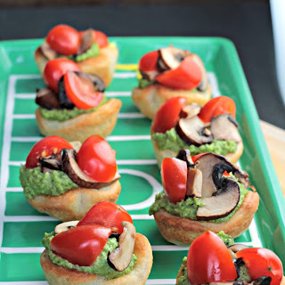 Game Day Vegan Pizza Bites