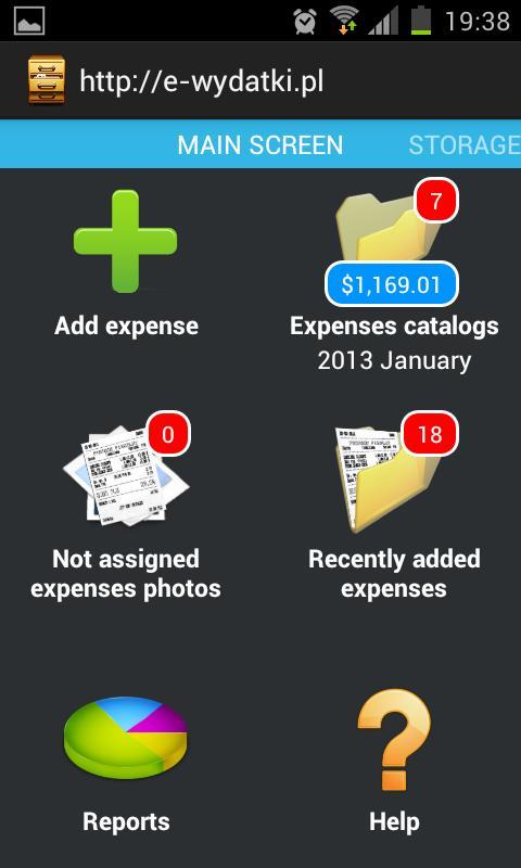e-wydatki.pl- screenshot