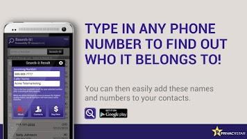 Screenshot of Reverse Phone Number Lookup