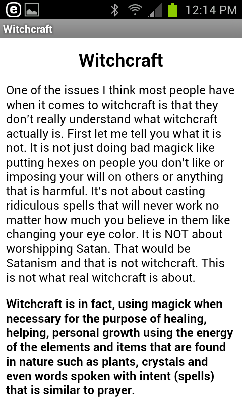 Witch Digest- screenshot