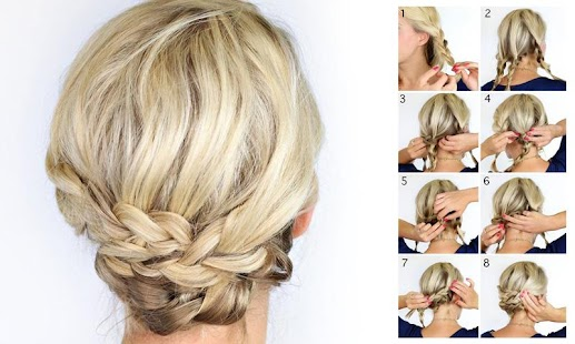 Surprising Braided Hairstyles Steps 2016 Android Apps On Google Play Hairstyle Inspiration Daily Dogsangcom