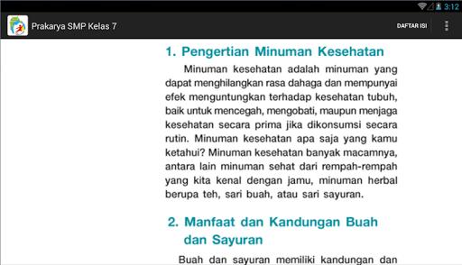 Kur 2013 Smp Kelas 7 Prakarya App Apk Free Download For Android Pc