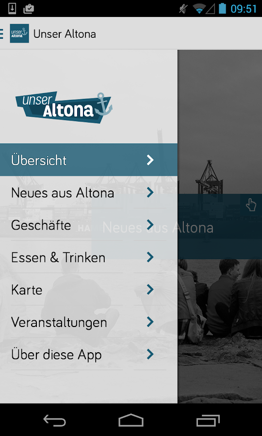 Unser Altona- screenshot