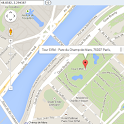 GPS Coordinates to MAP icon