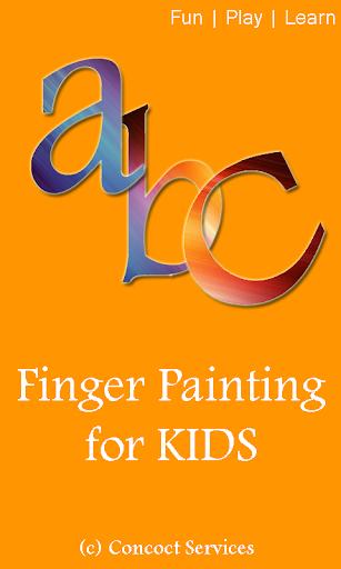 Finger Paint for Kids