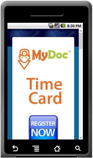 MyDoc TimeCard 30 Minutes