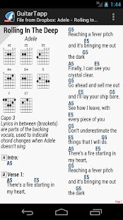 GuitarTapp PRO - Tabs & Chords- screenshot thumbnail