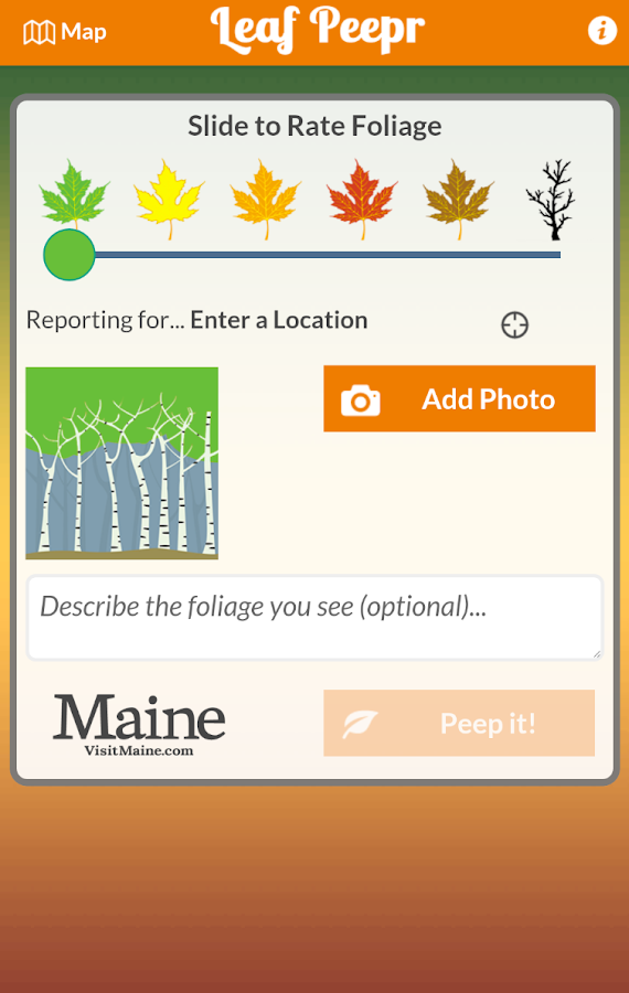 Foliage Leaf Peepr - screenshot