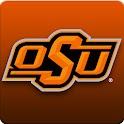Oklahoma State Cowboys Clock logo