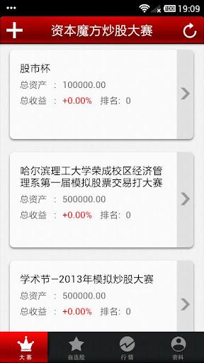 资本魔方模拟炒股大赛