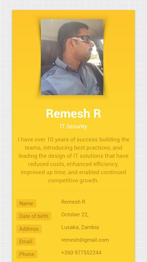 Remesh R