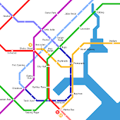SINGAPORE METRO MRT LRT MAP HD