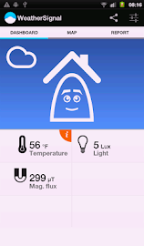 Mobile Weather Station Screenshot 1