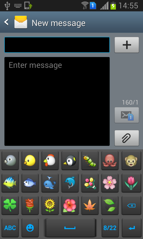 Emoji Sticker KeyBoard - screenshot