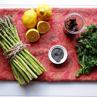 Rustic Asparagus Quinoa Tart.
