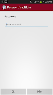 Password Vault Lite - screenshot thumbnail