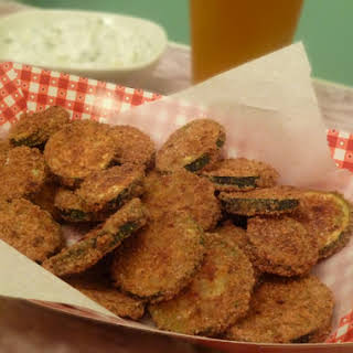 (Not Fried) Zucchini Chips.