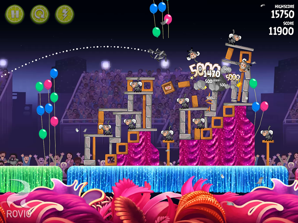 Angry Birds Rio - screenshot