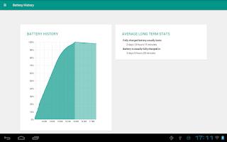 Screenshot of Battery Widget Reborn