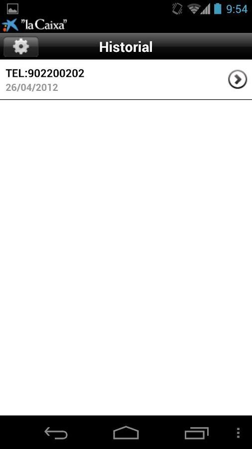 Lector códigos QR- screenshot