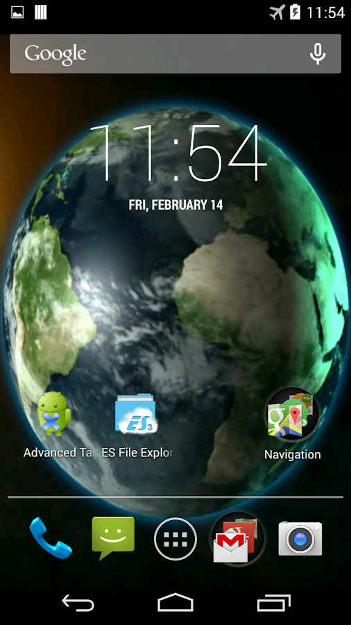 Amazing Earth Live Wallpaper - screenshot