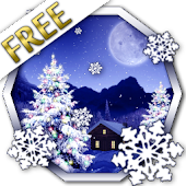 Winter Snow Xmas LWP Free