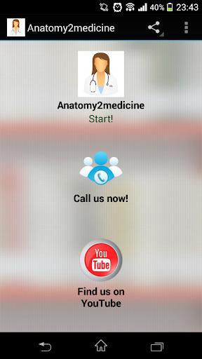 Anatomy2medicine