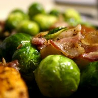 Pancetta Roasted Brussels Sprouts