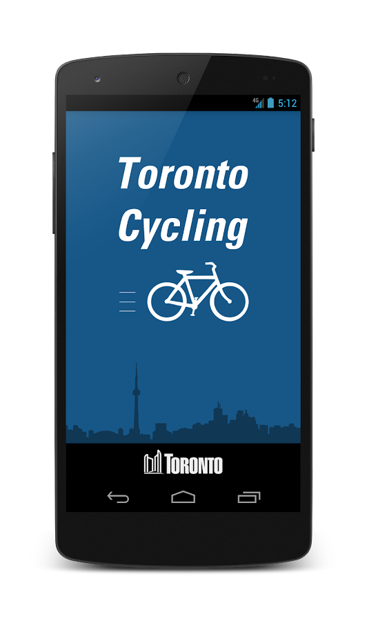 Toronto Cycling- screenshot