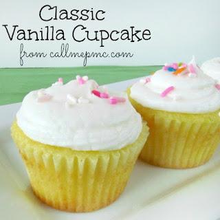 Your Favorite Classic Vanilla Cupcake Recipe