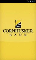 Screenshot of Cornhusker Bank Mobile Banking