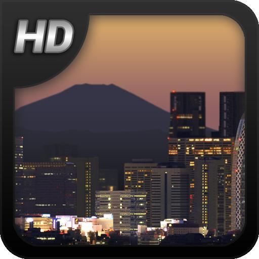 个人化のスカイラインの街:東京 LOGO-記事Game