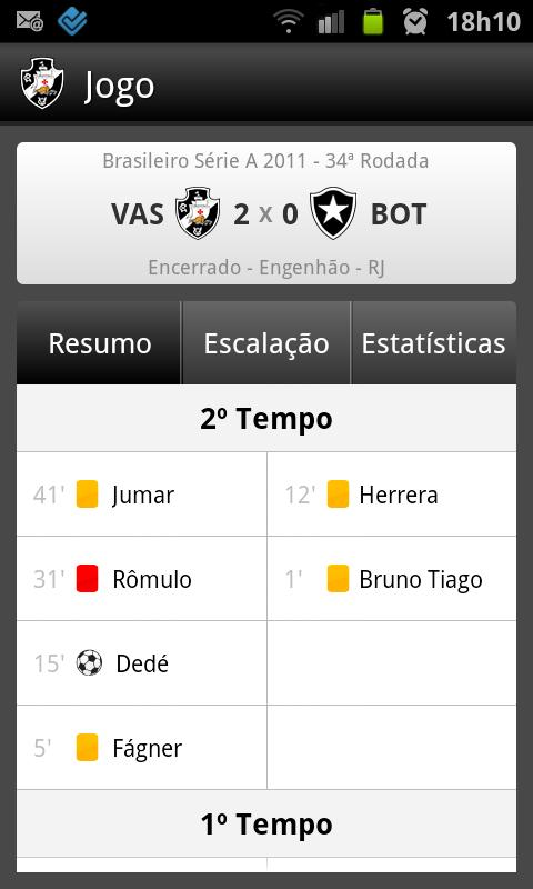 Vasco SporTV - screenshot