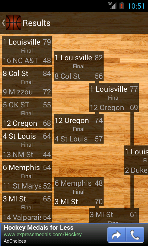 Bracket Tracker- screenshot