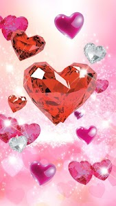 Diamond Hearts Live Wallpaper v2.2
