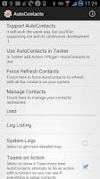 Screenshot of AutoContacts