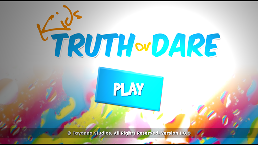 Kids Games: Truth or Dare