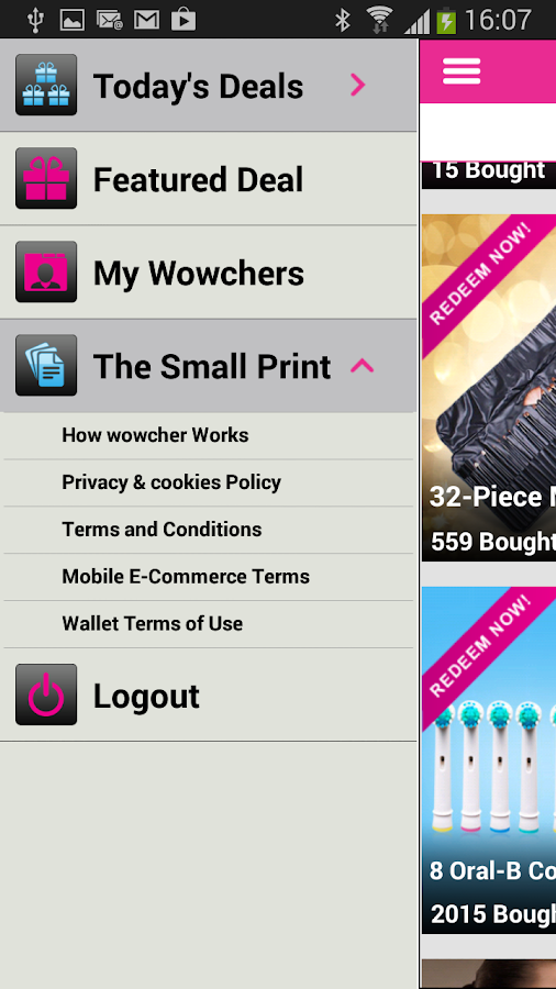 Wowcher - screenshot