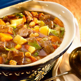 Hearty Beef & Vegetable Stew.