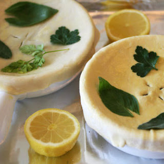 Coquilles St. Jacques Pot Pies with Roasted Lemon